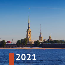 Walking Saint-Petersburg 2021