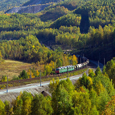 From Moscow to Vladivostok on regular trains